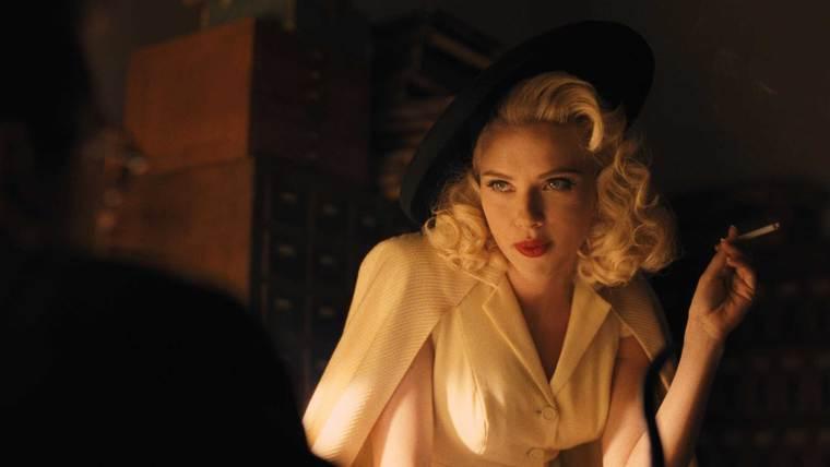 The stunning Scarlett Johansson