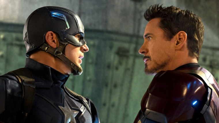 Captain America V Iron Man (Captain America: Civil War, Marvel Studios