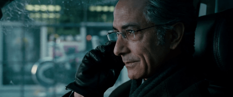 The ruthless and calculating Noah Vosen (David Strathairn) (The Bourne Ultimatum, Universal Pictures)