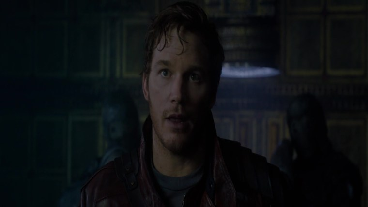 """Star-Lord man legendary outlaw"" Chris Pratt was born for this (Guardians Of The Galaxy, Marvel Studios)"