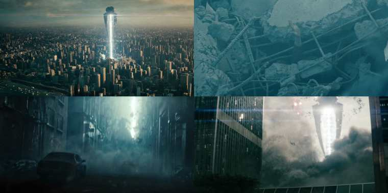 The Destruction Of Metropolis (Man Of Steel, Warner Bros)