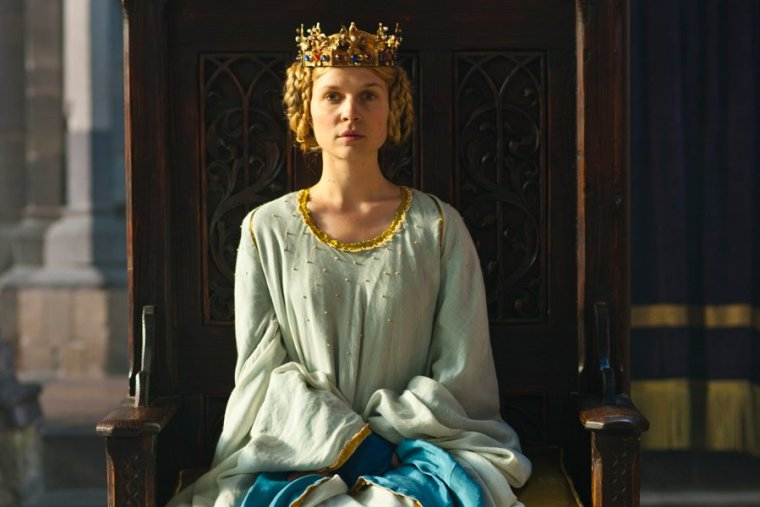 The beautiful Queen Isabella (Clémence Poésy) (The Hollow Crown, BBC Two)