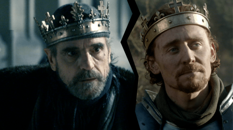 Henry IV (Irons) & Henry V (Hiddleston) (The Hollow Crown, BBC Two)