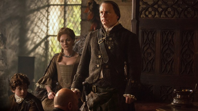 Laird Of Castle Leoch & Chieftain Of Clan Mackenzie, Colum Mackenzie (Gary Lewis) (Outlander, Starz)