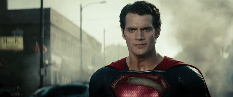This really is a darker take on Superman (Henry Cavill) (Man Of Steel, Warner Bros)