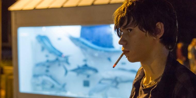 The manipulator Nolan Rayburn (Owen Teague) (Bloodline, Netflix)