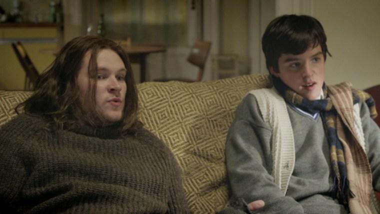 Brendan (Reynor) & Conor (Walsh-Peelor) (Sing Street, Lionsgate)
