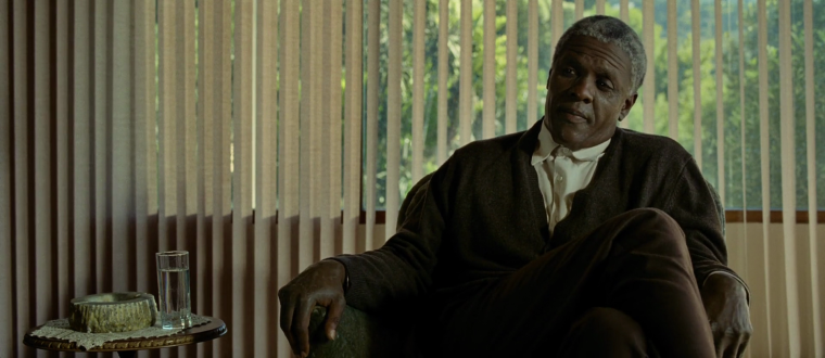 The older and more hardened Nelson Mandela (Mandela: Long Walk To Freedom, The Weinstein Company)
