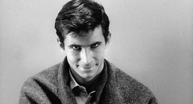 """We're all not quite as sane as we pretend to be."" - Robert Bloch, Psycho Anthony Perkins is the boyish and charming psychotic killer Norman Bates (Psycho, Paramount Pictures)"