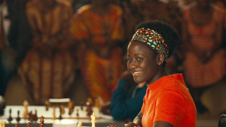 Scenes like this take me back to my tournament days, often being the last game to finish in the hall (Queen Of Katwe, Walt Disney Pictures)