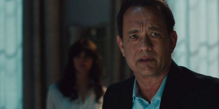 Tom Hanks reprises his role as the claustrophobia-stricken Robert Langdon (Inferno, Sony Pictures)