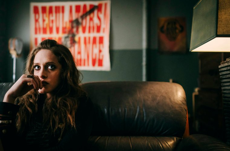 Carly Chaikin as Darlene in USA's Mr Robot (Mr Robot, USA Network)