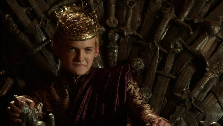 The sadistic King Joffery, played by Jack Gleeson in Game Of Thrones (Game Of Thrones, HBO)