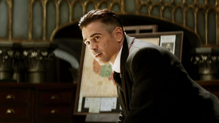 Colin Farrell plays the spidery and snakey Mr Graves in the latest addition to the Potterverse (Fantastic Beasts And Where To Find Them, Warner Bros.)