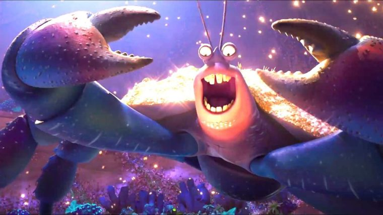 Tamatoa (Jemaine Clement): his musical number is an acquired taste but I loved it (Moana, Walt Disney Pictures)