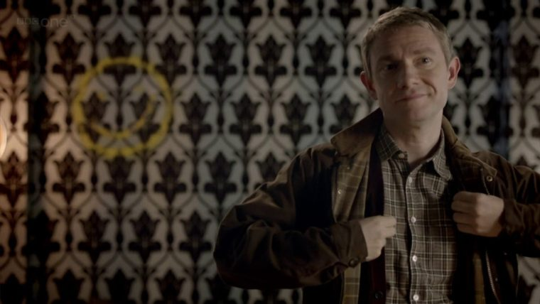 Martin Freeman plays Doctor John Watson in BBC's Sherlock (Sherlock, BBC One)