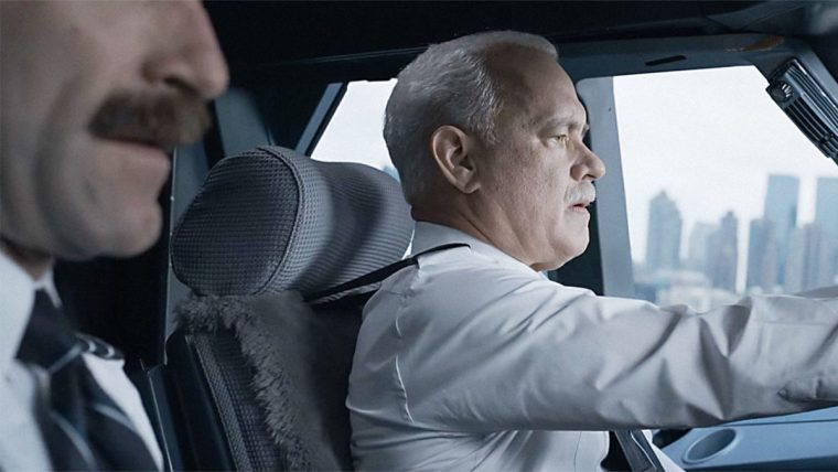 Sully and company brace for impact on the Hudson (Sully, Warner Bros.)