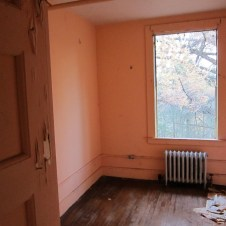 Northampton State Hospital North Attendant's building interior, dorm room, second floor