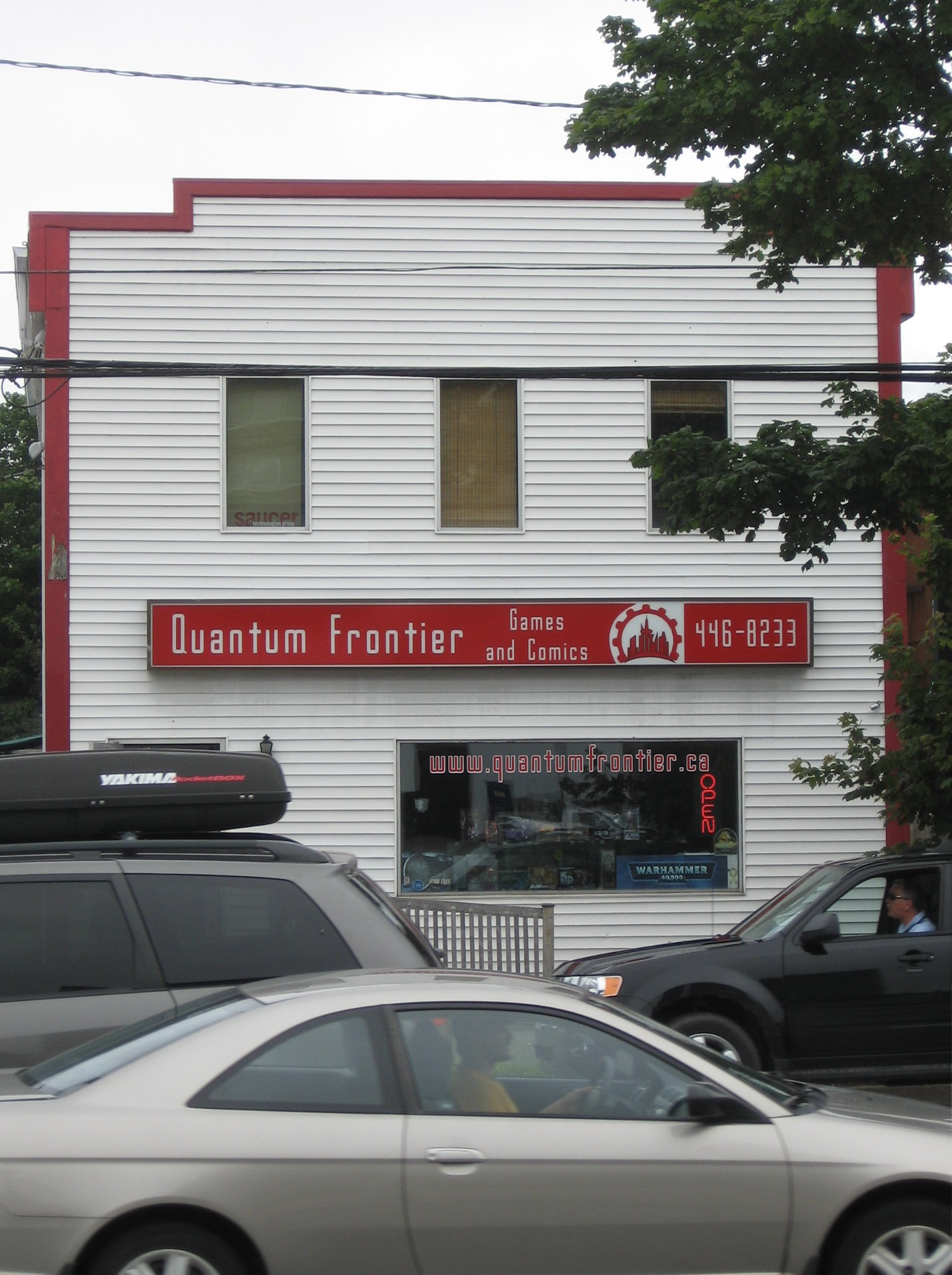 Quantum Frontier is on one of Halifax's busiest corners.