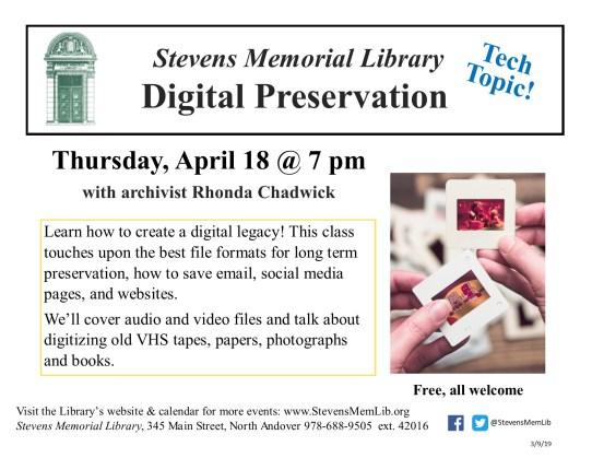StevensMemLib Tech Topics Digital Preservation.jpg