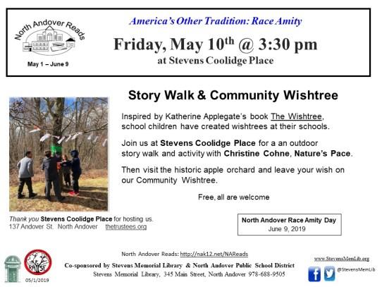 StevensMemLib Story Walk Stevens Coolidge 2019-05-10.jpg