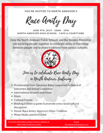 North Andover Race Amity Day 2019 flyer.JPG