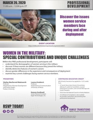 Women in the Military flyer 032620.jpg