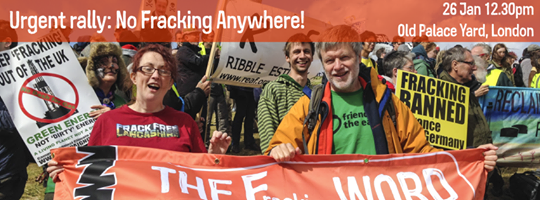 Rally to stop fracking