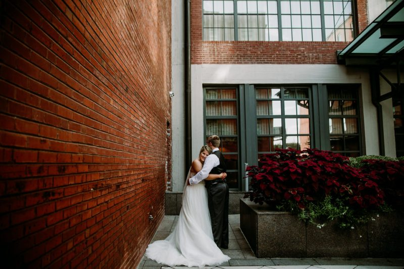 Kerri and Justin's Wedding at Herbeck Lake and photography at Busch Stadium by St. Louis Wedding Photographer's North Arrow Creative