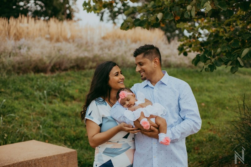 St. Louis Indian Family Photography in Forest Park