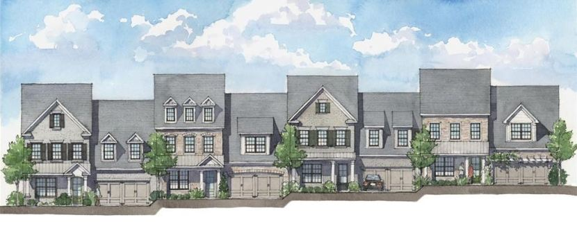 Harlow New Roswell Townhome Community