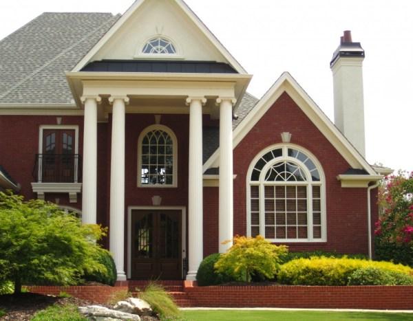White Columns Milton GA Estate Home