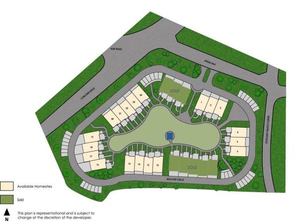 Concord Hall Community Site Plan Georgia