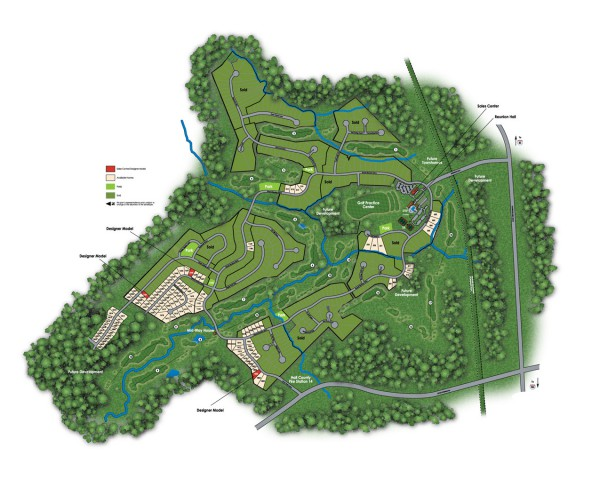 Hoschton Reunion Country Club Community Site Plan