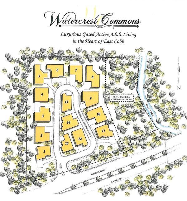 Marietta GA Community Of Watercrest Commons