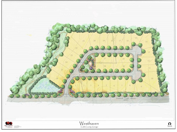 West Haven Smyrna GA Community Site Plan