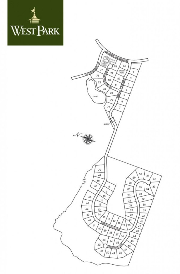 West Park Community Site Plan Georgia