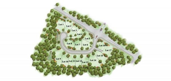 Woodland Manor Atlanta Community Site Plan
