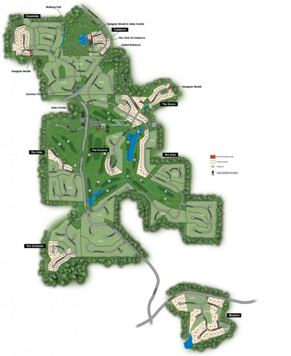 Woodmont GOlf & Country Club Community Site Plan