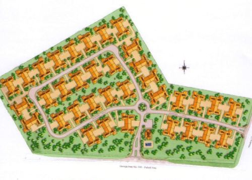 Brookhaven At Sugarloaf Site Plan Duluth