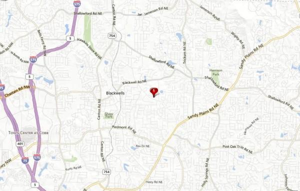 Hickory Woods Neighborhood Location