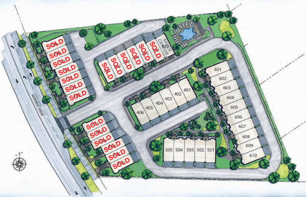 Ansley Parkside Neighborhood Site Plan
