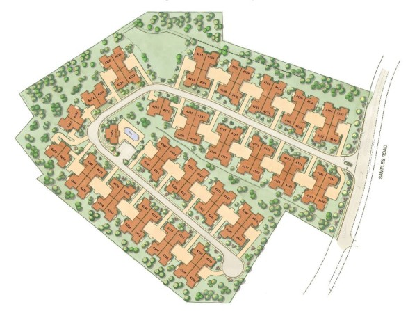 Community Site Plan Brookhaven At Lanier