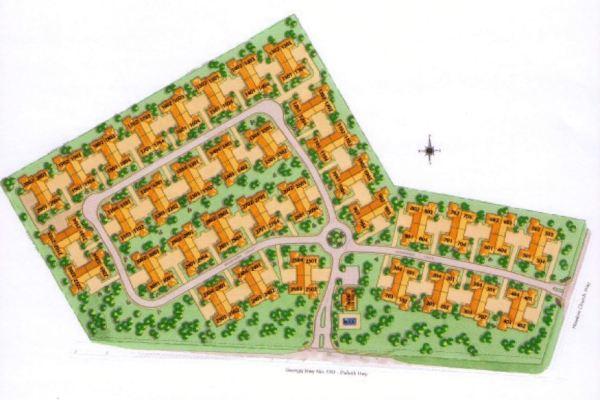 Neighborhood Site Plan Brookhaven At Sugarloaf