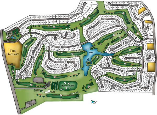 Neighborhood Site Plan Crooked Creek