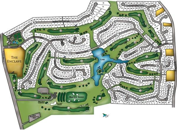Neighborhood Site Plan Crooked Creek