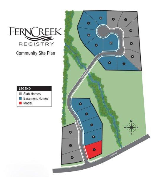 Alpharetta Pulte Neighborhood Ferncreek Registry