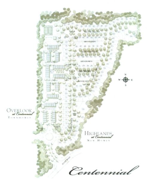 Centennial Community Site Plan Roswell