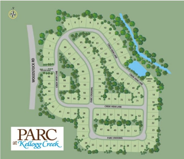 Acworth GA Parc At Kellogg Creek