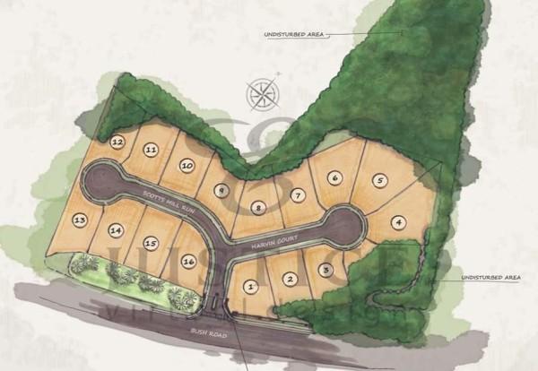 Peachtree Corners Peachtree Reserve Site Plan